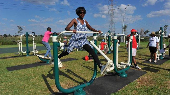 open lucht sportschool soweto